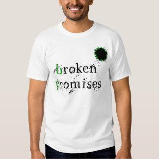 BP Oil Spill - Broken Promises T Shirt