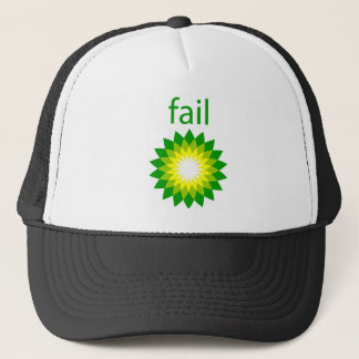 BP Oil Spill Fail Logo Trucker Hat
