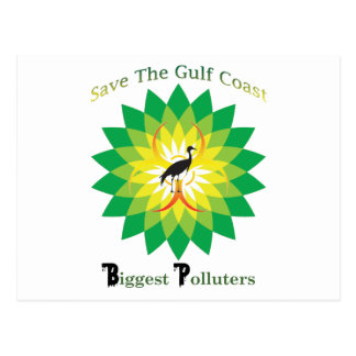 BP Oil Spill Postcard