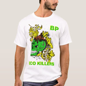 bp oil spill protest tshirt