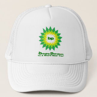 bp Oil Spill Slogan Trucker Hat