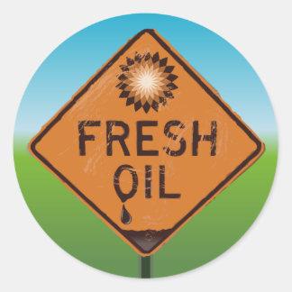BP Oil Spill Sticker - Fresh Oil