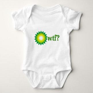 BP OIL SPILL WTF BABY BODYSUIT