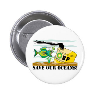 BP Save Our Oceans Button