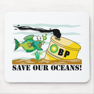 BP Save Our Oceans Mouse Pads