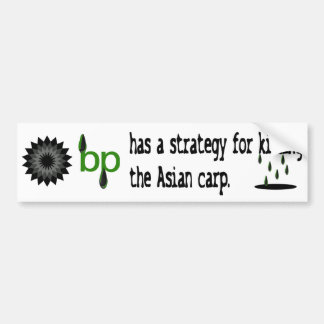 bp strategy bumpersticker car bumper sticker