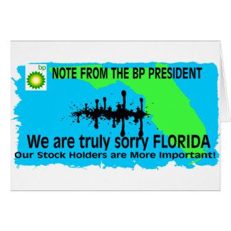 BP TO FLORIDA CARD