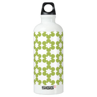 BPA geométricos florales verdes liberan