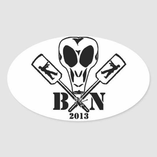 BPaddleN 2013 Oval Sticker