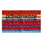 bpc Artisanware Knit Business/Profile Card Business Card