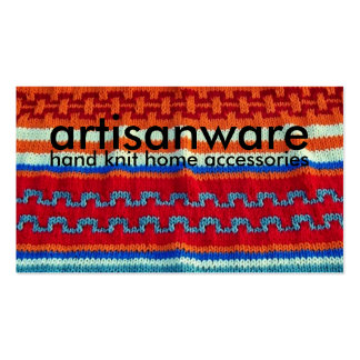 bpc Artisanware Knit Business/Profile Card Double-Sided Standard Business Cards (Pack Of 100)
