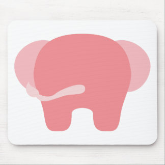 BPinkEleP13 Mouse Pad
