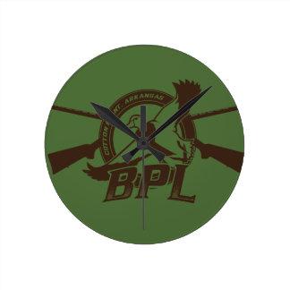 BPL MERCH! ROUND CLOCK