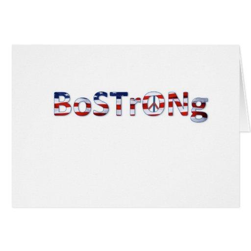 Bpstpn Strong Greeting Card