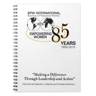 BPW International 85th Anniversary Notebook