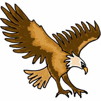 BQ que vuela la escultura de la foto de Eagle Fotoescultura Vertical