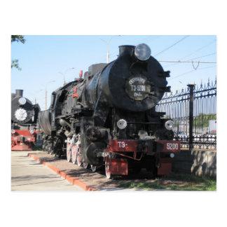 BR 52 locomotora de guerra тэ-5200паровоз Tarjetas Postales