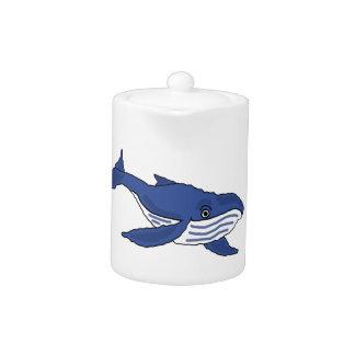 BR- Blue Whale Teapot