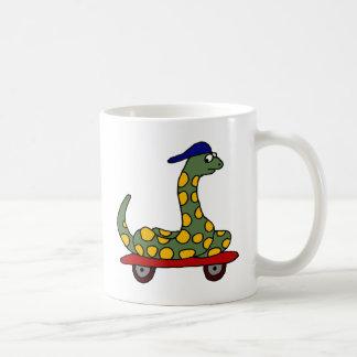BR- Boa Constrictor Skateboarding Coffee Mug