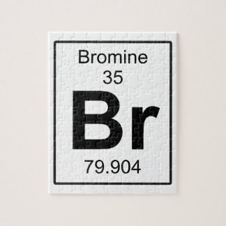 Br - Bromine Jigsaw Puzzle
