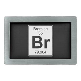 Br - bromo hebillas de cinturón rectangulares
