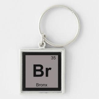 Br - Bronx New York Chemistry Periodic Table Key Chain