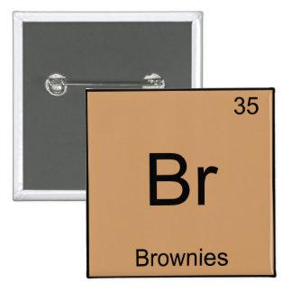 Br - camiseta divertida del símbolo del elemento d pin