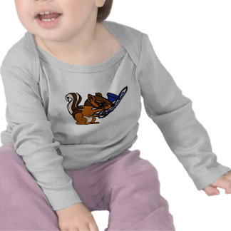 BR- Chipmunk Playing the Trombone Baby Outfit Shirt