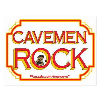 BR de la roca de los hombres de cueva Postal