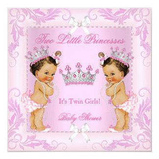 """BR de la tiara de la fiesta de bienvenida al bebé Invitación 5.25"""" X 5.25"""""""