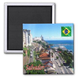 BR - el Brasil - Salvador - Bahía Imán Cuadrado