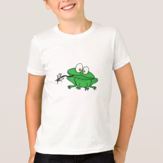 BR- Frog Eating Fly Shirt