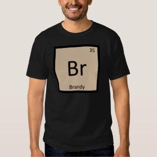 Br - símbolo de la tabla periódica de la química remera