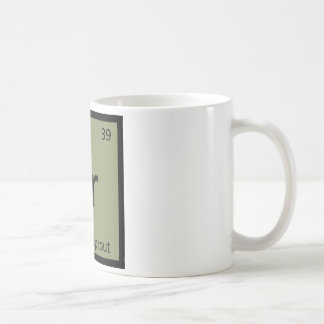 Br - símbolo vegetal de la química de las coles de taza clásica