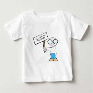 <br /> your face!  Geek Rage. Baby T-Shirt