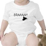 """BRAAAAP!"" Infant Snowmobile Baby Creeper"