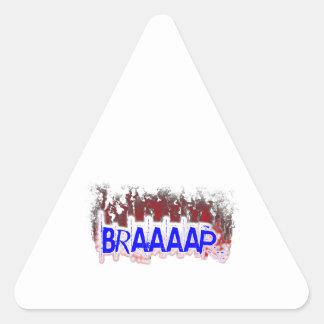 Braaaap Triangle Sticker