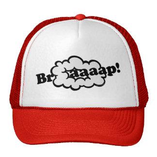 Braap! Smoke Ring 2-Stroke Engine Dirt Bike Sound Trucker Hat
