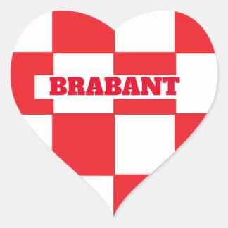 Brabant Heart Sticker
