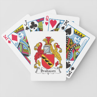 Brabazon Family Crest Bicycle Playing Cards