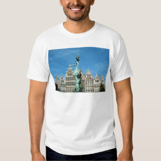 Brabo Fountain Grote Markt Antwerp Belgium T-shirt