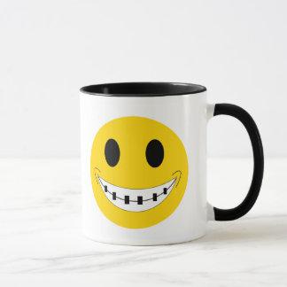Brace Face Mug