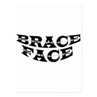 BRACE FACE Postcard 2