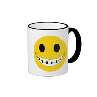 Brace Face Ringer Mug