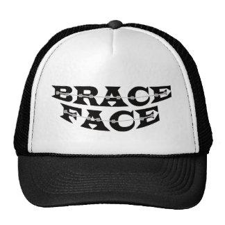 Brace Face Trucker hat