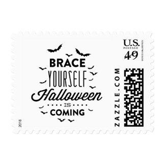 BRACE YOURSELF HALLOWEEN Halloween Stamp