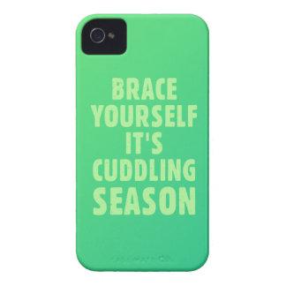 Brace yourself, it's cuddling season Case-Mate iPhone 4 cases