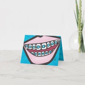 Braceface card