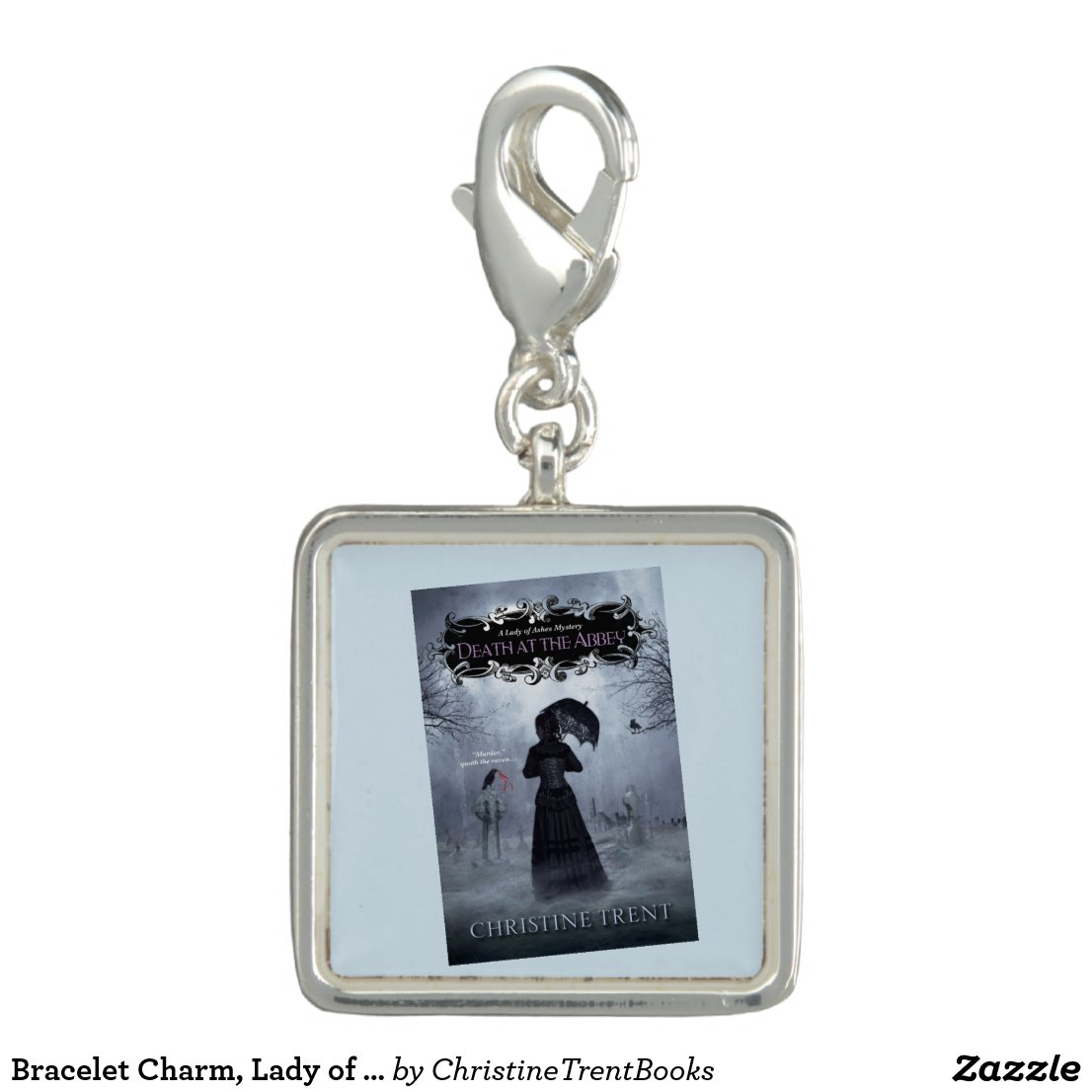 Bracelet Charm, Lady of Ashes, Death at Abbey