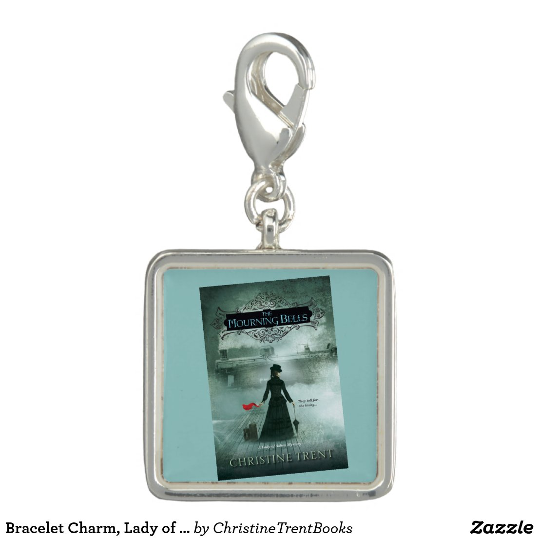 Bracelet Charm, Lady of Ashes, Mourning Bells